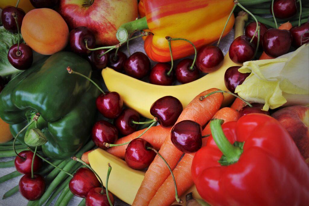 Fruit and vegies