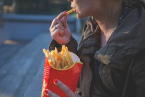 Stress and unhealthy foods