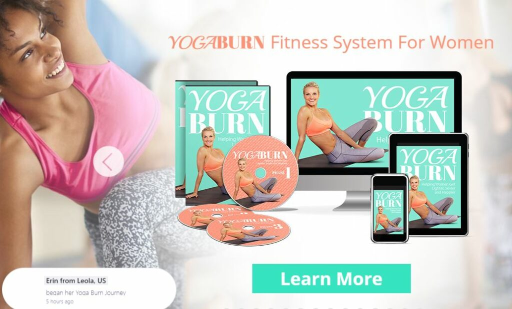 yoga burn workout